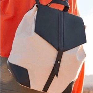 Vegan leather backpack- deux lux